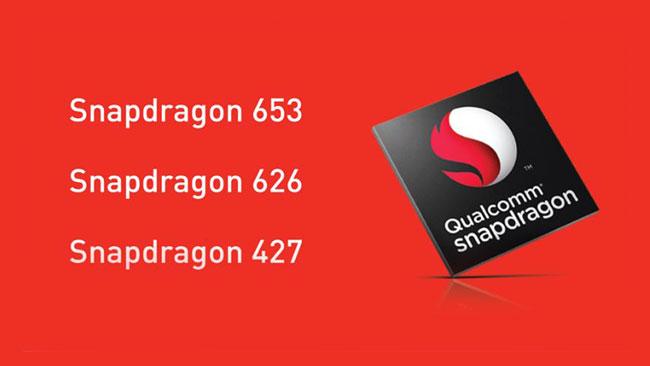 Pemproses Snapdragon 653, 626 Dan 427 Diumumkan