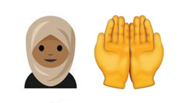 Emoji Wanita Berhijab Dan Tangan Berdoa Mungkin Diperkenalkan Pertengahan Tahun 2017