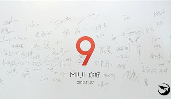 Xiaomi Memulakan Pembangunan MIUI 9