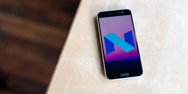 HTC Nougat