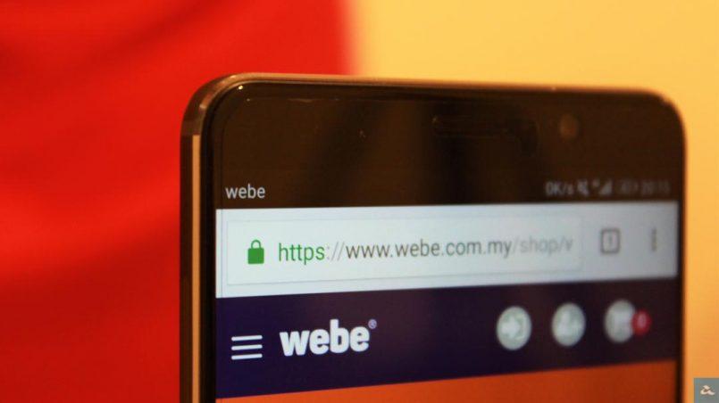 Telekom Malaysia Meningkatkan Pegangan Pada Webe