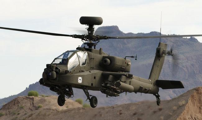 Helikopter Tempur AH-64E Apache Akan Menyokong Fungsi Kawalan Dron