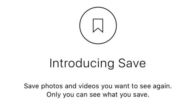 Instagram Save