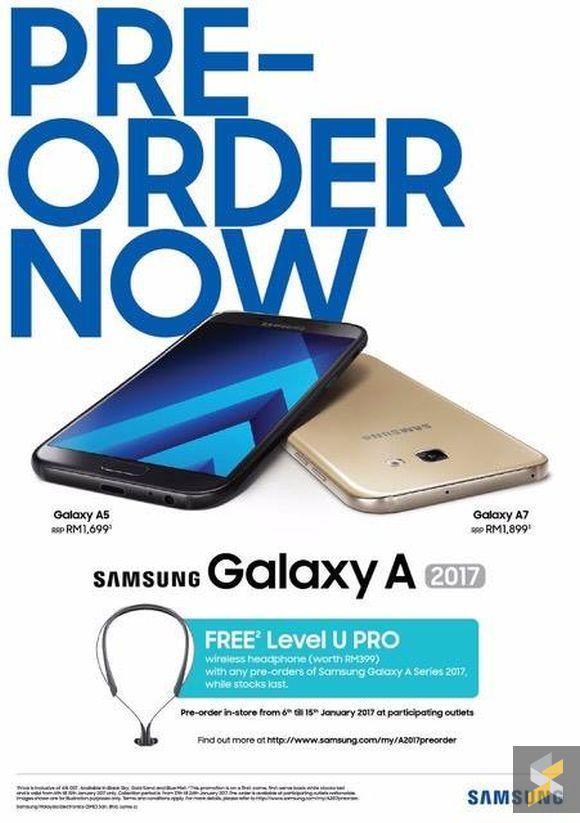 Samsung Galaxy A 2017 Tertiris