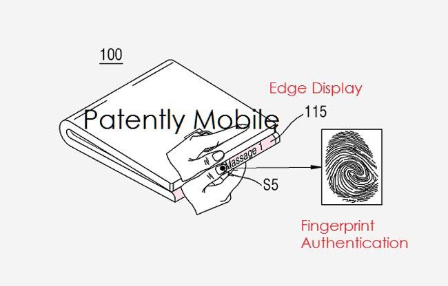 Samsung Mampatenkan Peranti Boleh Lipat Yang Dinyahlipat Dengan Sistem Imbasan Mata