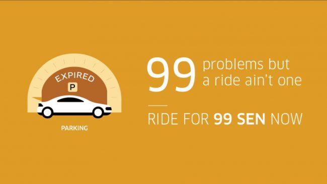 Uber 99sen