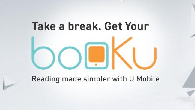 UMobile booKu Membolehkan Anda Membeli Buku Digital Guna Kredit Prabayar Atau Pascabayar