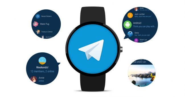 Telegram Android Wear