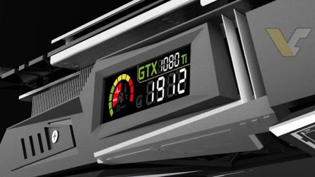Colorful Akan Menghasilkan Kad Grafik Nvidia GeForce GTX 1080 Ti Dengan Skrin LCD Terbina