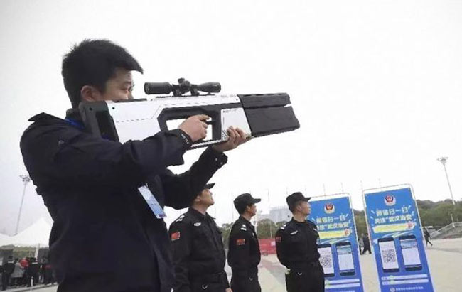 China Memperlihatkan Raifal Anti-Dron Yang Kelihatan Futuristik