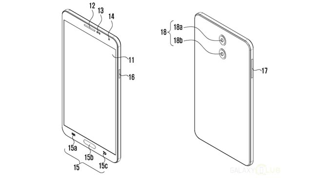 Samsung Mempatenkan Sistem Dwi-Kamera – Mungkin Untuk Galaxy Note 8