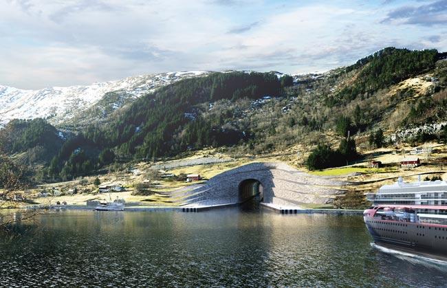 Norway Bakal Membina Terowong Khas Untuk Kapal Bersaiz Besar Pertama Di Dunia