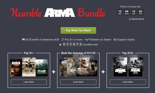 Humble Bundle ARMA