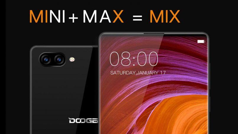 Doogee MIX – Peranti Berbingkai Nipis Seumpama Mi Mix Berharga RM1399 Di Malaysia