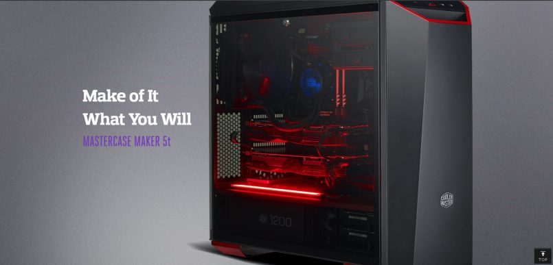 Ubahsuai Rupa-bentuk Komputer Anda Dengan Cooler Master MasterCase Maker 5t