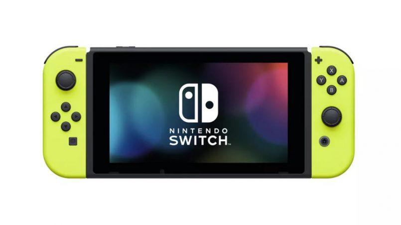 Nintendo Akan Melancarkan Joy-Con Bewarna Kuning Neon Dan Pek Bateri Tambahan