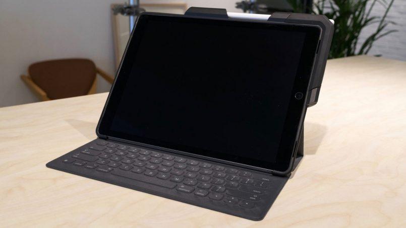 Kerangka ProBack Untuk iPad Pro Dengan Pengecas Apple Pencil Terbina