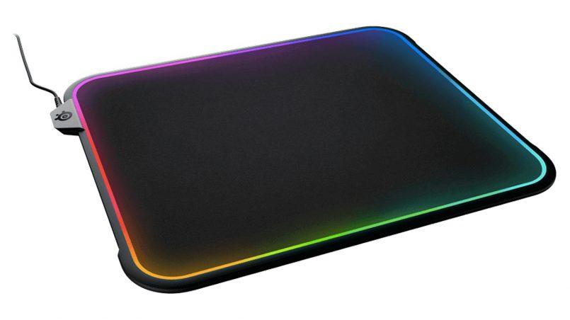Pelapik Tetikus Steelseries QcK Prism Dilancarkan Dengan Sokongan Lampu Dan Pelapik Dwi-Tekstur