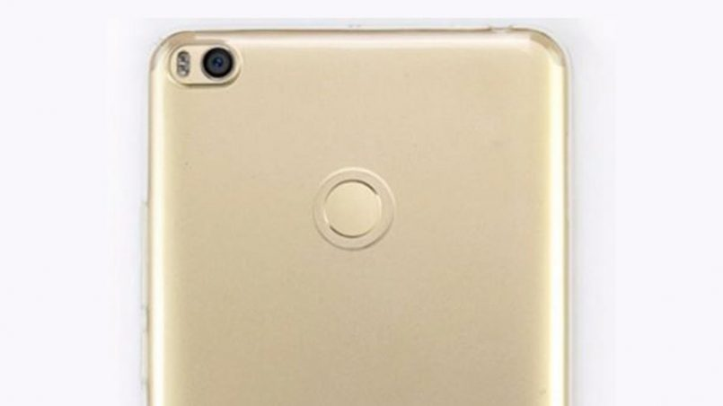 Rekaan Xiaomi Mi Max 2 Tertiris