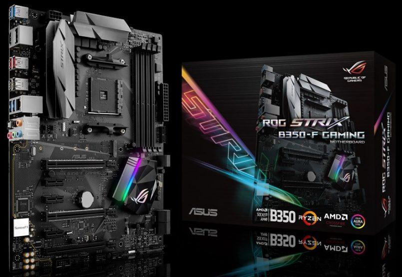 ASUS ROG B350-F – Papan Induk AMD Ryzen Dengan Spesifikasi Menarik