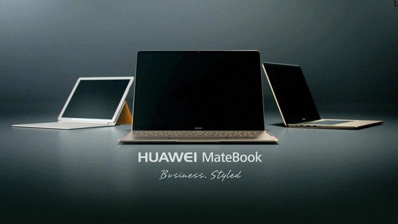 Huawei Turut Menyertai Arena Komputer Riba – Melancarkan Tiga Model MateBook