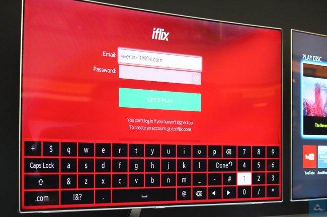 iFlix Samsung Smart TV