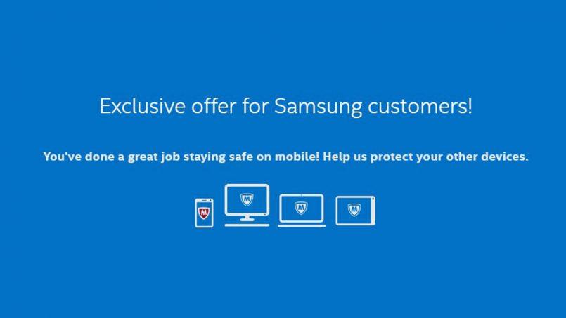 Perisian McAfee Akan Terpasang Pada Televisyen, Komputer Dan Telefon Pintar Samsung