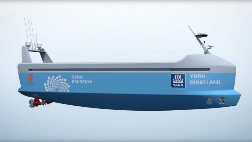 Kapal Kargo Elektrik Dengan Pelayaran Automatik Akan Beroperasi Seawal 2018