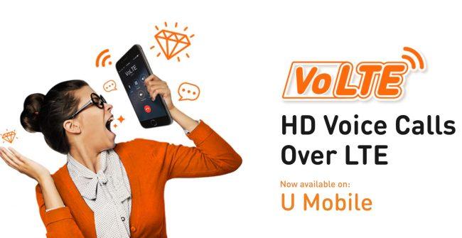 U Mobile VoLTE