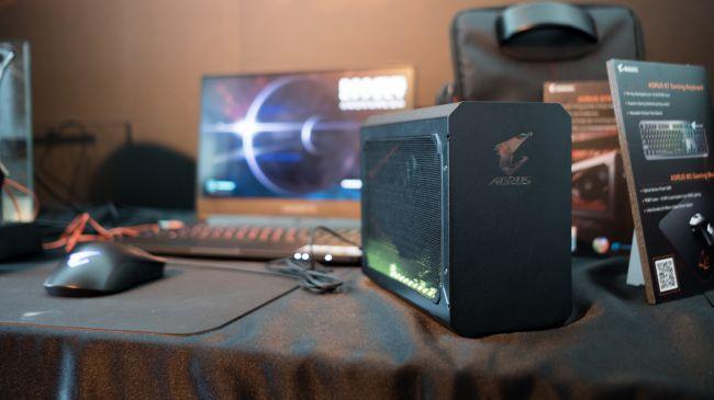 AORUS Gaming Box – Kotak Grafik Luaran Dengan Kad Grafik NVIDIA GTX 1070