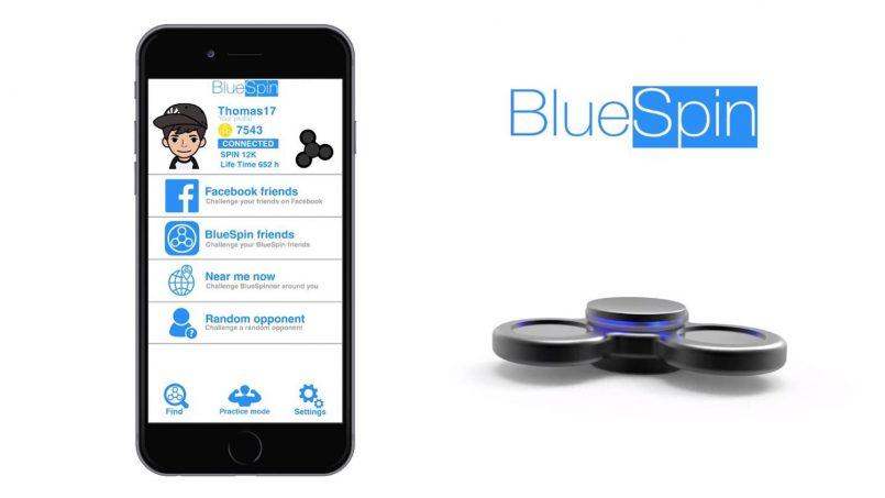 BlueSpin – Pemutar Kegelisahan Pintar Dengan Sokongan Bluetooth Dihasilkan