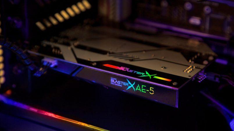 Kad Audio Creative Sound BlasterX AE-5 Dilancarkan Untuk Penggemar Audio Berkualiti Tinggi