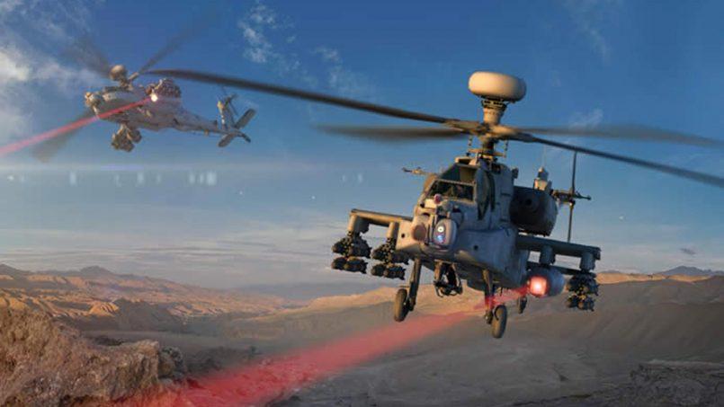 Raytheon Berjaya Menguji Sistem Laser HEL Untuk Kegunaan Helikopter Tempur Apache