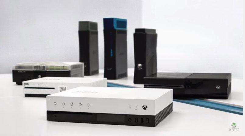 Kit Pembangun Xbox Project Scorpio Microsoft Diperlihatkan – Hadir Dengan 24GB Memori GDDR5 Dan Skrin Kecil Terbina