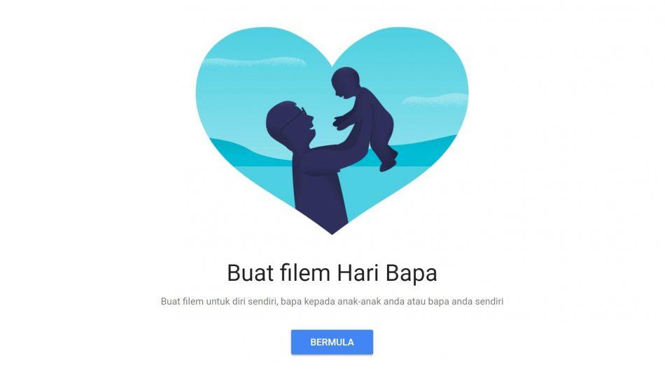 Google Photos Hari Bapa