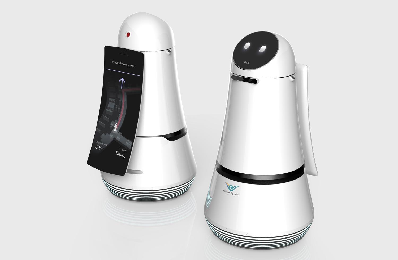 Robot Keluaran LG Akan Membantu Penumpang Dan Membersihkan Lapangan Terbang Incheon