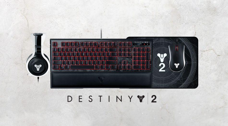 Razer Hadir Dengan Aksesori Bertemakan Permainan Destiny 2