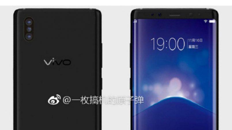 Rekaan Vivo Xplay 7 Tertiris – Dilengkapi Empat Kamera Dan Pengimbas Jari Terbina Pada Skrin