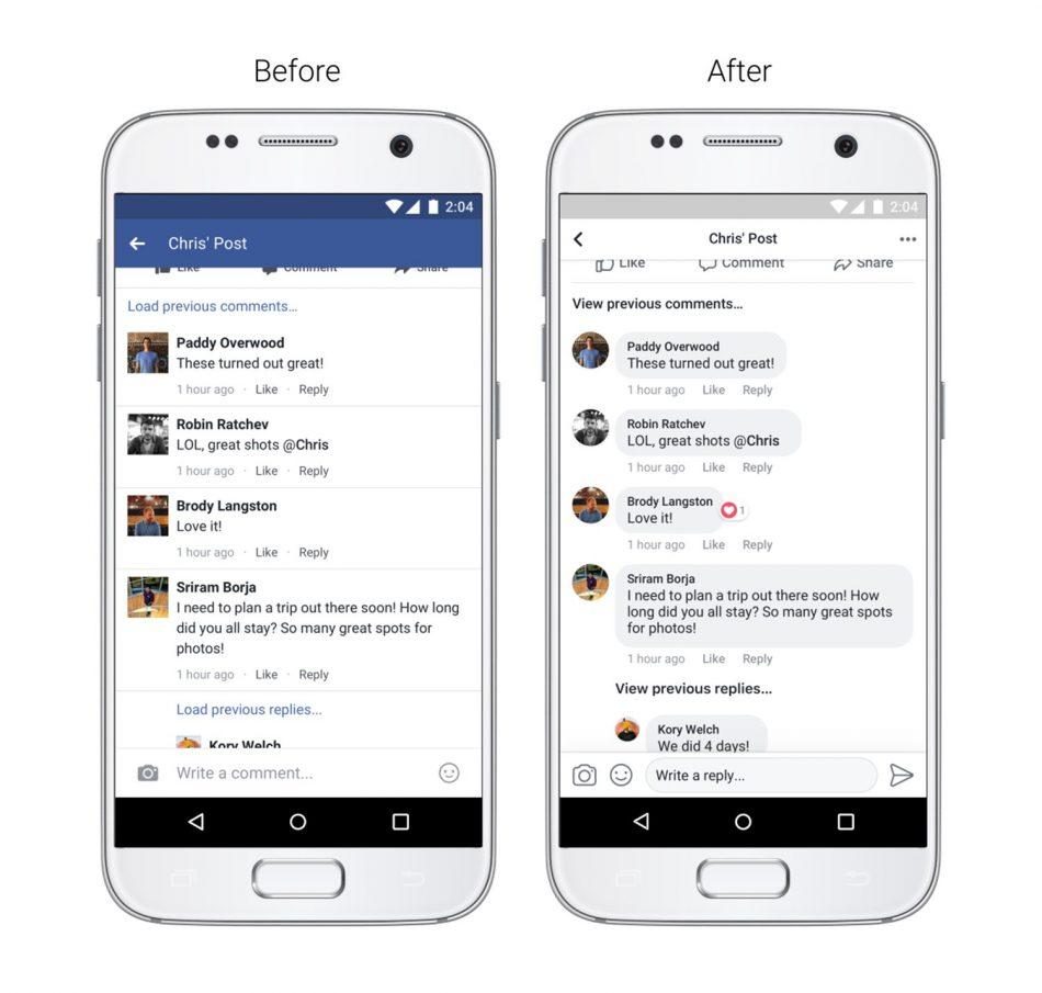 Facebook Memperkenalkan Kemaskini Antaramuka Untuk Paparan News Feed