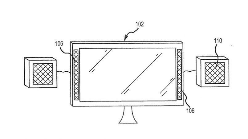 Apple Mempatenkan Sistem Audio Untuk iMac Yang Mengubah Kekuatan Bunyi Mengikut Kedudukan Pengguna