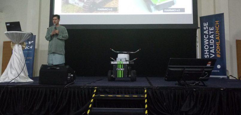 Farmo – Robot Semburan Racun Mampu Milik