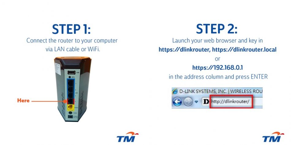 TM DLink Router