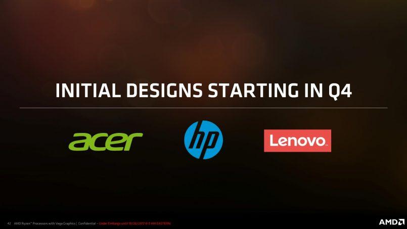 Komputer Riba Menggunakan AMD Ryzen Mobile APU Diumumkan – Dari Acer, HP Dan Lenovo