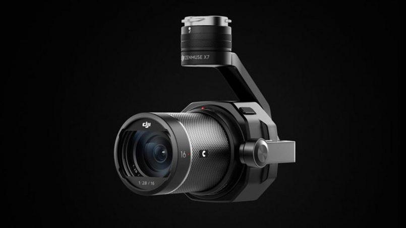 Kamera Dron DJI Zenmuse X7 Dilancarkan Dengan Kemampuan Rakaman Video 6K