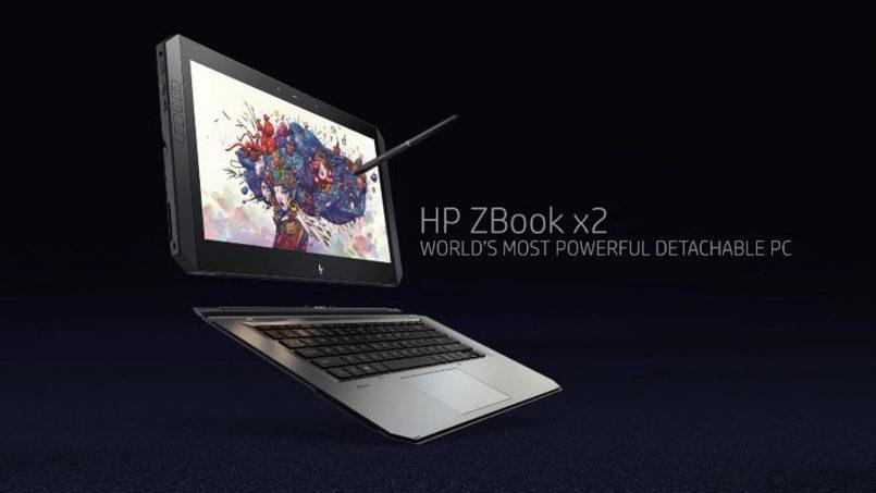 Tablet Untuk Golongan Kreatif HP ZBook x2 Dilancarkan Dengan Sokongan Stylus Wacom