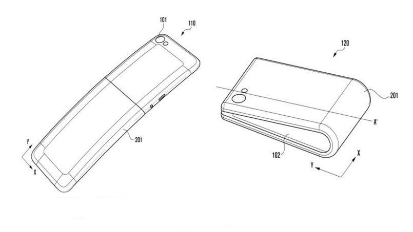 Paten Terkini Samsung Memperlihatkan Rekaan Lebih Jelas Peranti Skrin Boleh Lipat Galaxy X