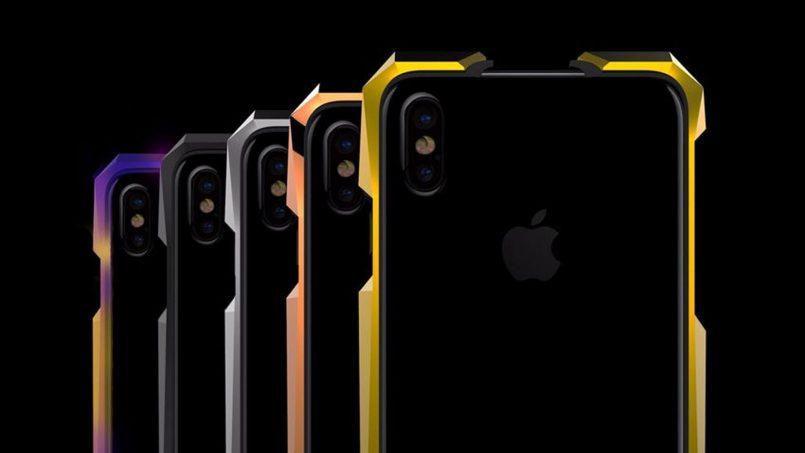 Advent – Kerangka iPhone X Yang Diperbuat Daripada Titanium