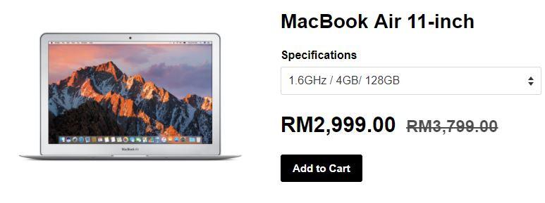 MacBook Air 11-inci