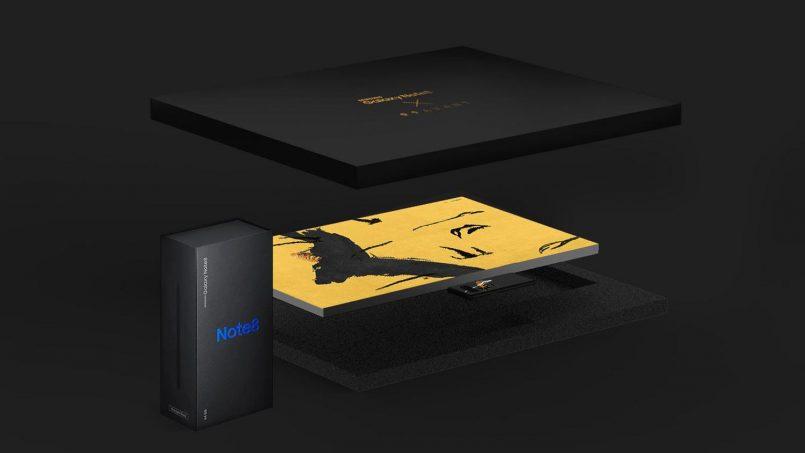 Peranti Edisi Terhad Samsung Galaxy Note 8 X 99 Avant Dilancarkan Di Korea Selatan