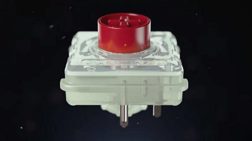 Suis Kekunci Mekanikal Cherry MX Low Profile RGB Dilancarkan